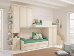 white classic teen bedroom design