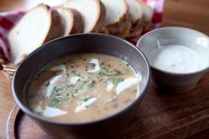 g_szegfugomba leves burgonyaval