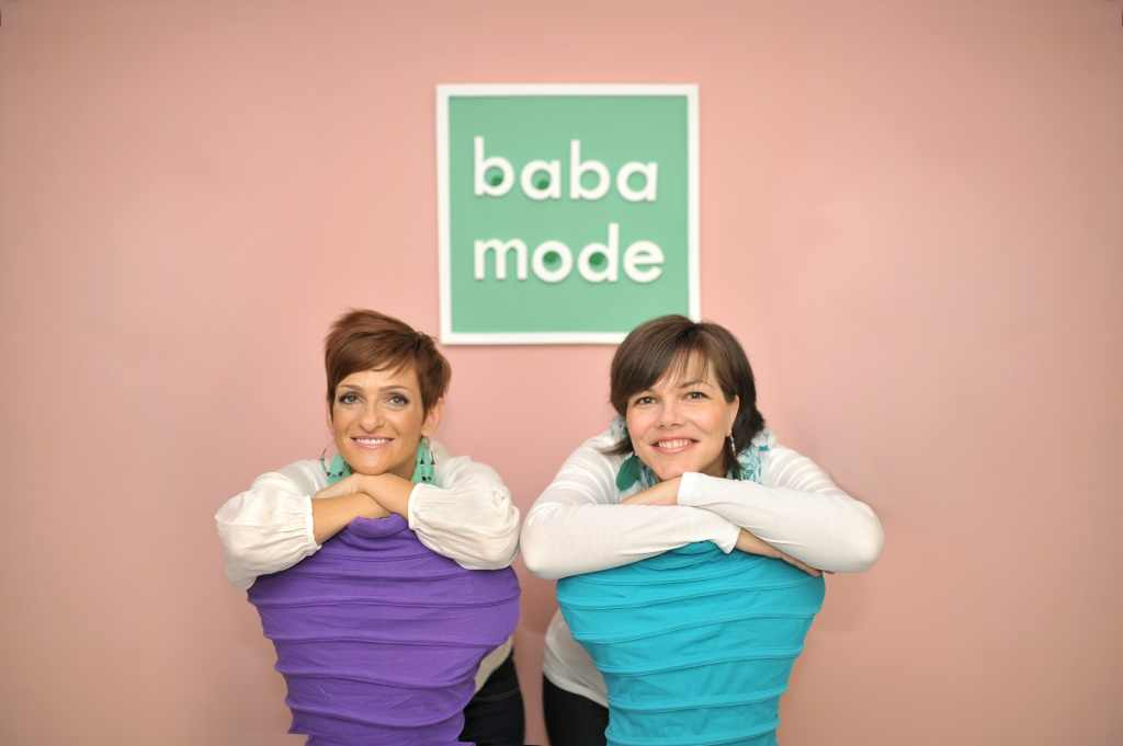 A BabaMode alapítói szintén gyakorló kisbabás ce12aa3404