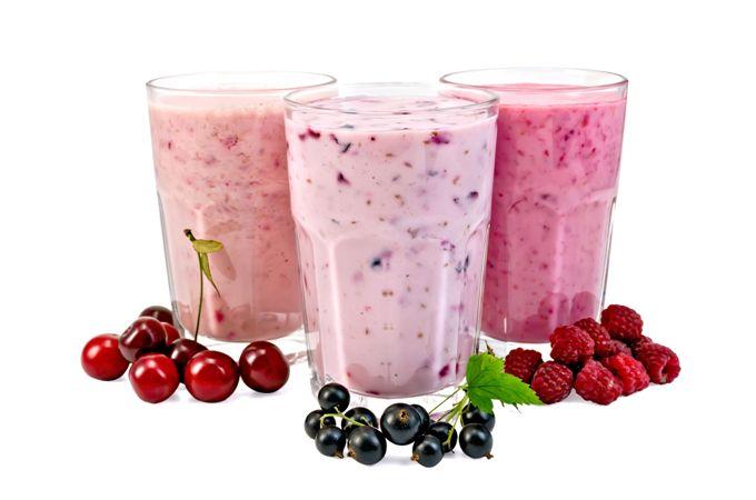 Gyümölcsös joghurt-turmix