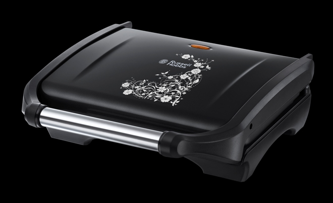 legacy grill black floral