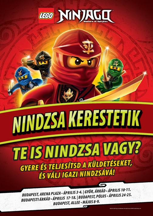 Ninjago plakat