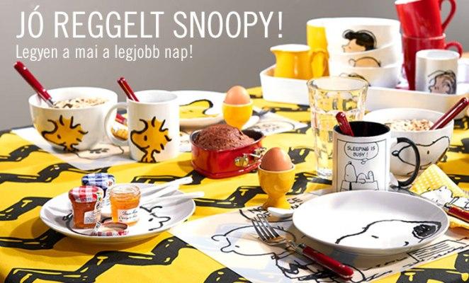 jo reggelt snoopy