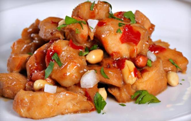 azsiai mogyoros csirke